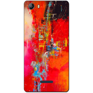Cell First Designer Back Cover For Micromax Canvas 5 E481-Multi Color sncf-3d-Canvas5E481-248