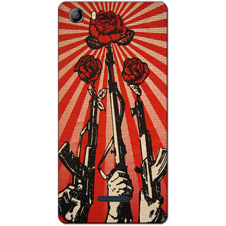 Cell First Designer Back Cover For Micromax Canvas 5 E481 Multi Color sncf 3d Canvas5E481 284
