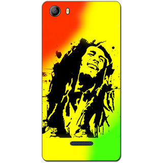 Cell First Designer Back Cover For Micromax Canvas 5 E481-Multi Color sncf-3d-Canvas5E481-302