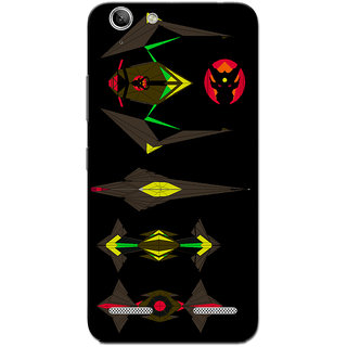 Cell First Designer Back Cover For Lenovo Vibe K5 Plus-Multi Color sncf-3d-lenovoK5Plus-372