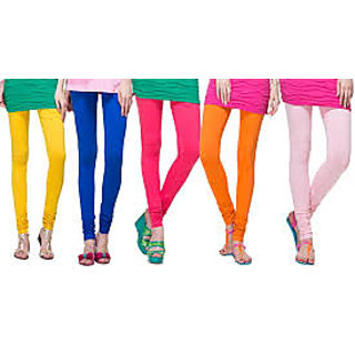 Leggings Combo of 5 pc for Girls