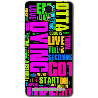 Cell First Designer Back Cover For Lenovo K5 Note-Multi Color sncf-3d-LenovoK5Note-143