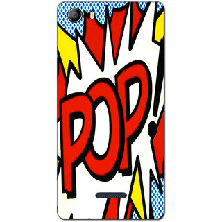 Cell First Designer Back Cover For Micromax Canvas 5 E481-Multi Color sncf-3d-Canvas5E481-124