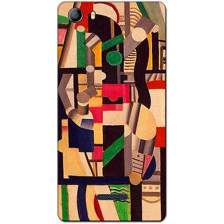 Cell First Designer Back Cover For Micromax Canvas 5 E481-Multi Color sncf-3d-Canvas5E481-160