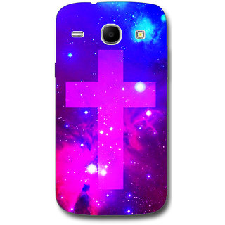 Cell First Designer Back Cover For Samsung Galaxy Core I8262-Multi Color sncf-3d-Core 8262-491