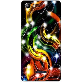 Cell First Designer Back Cover For Micromax Canvas 5 E481-Multi Color sncf-3d-Canvas5E481-211