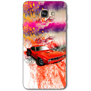 Cell First Designer Back Cover For Samsung Galaxy A7 2016 Edition-Multi Color sncf-3d-GalaxyA72016-480