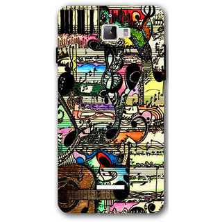 Cell First Designer Back Cover For CoolPad Dazen One-Multi Color sncf-3d-CoolpadDazen1-168