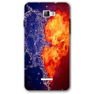 Cell First Designer Back Cover For CoolPad Dazen One-Multi Color sncf-3d-CoolpadDazen1-177