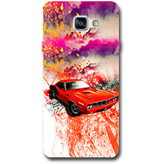Cell First Designer Back Cover For Samsung Galaxy A5 2016 Edition-Multi Color sncf-3d-GalaxyA52016-480