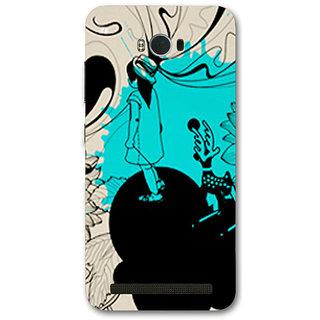 Cell First Designer Back Cover For Asus Zenfone Max ZC550KL-Multi Color sncf-3d-ZenfoneMaxZC550KL-162