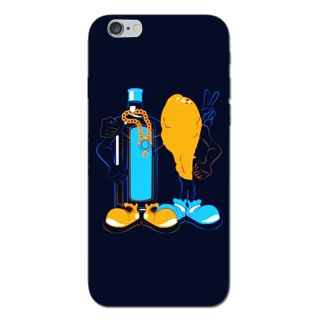 Cell First Designer Back Cover For Apple I phone 6-Multi Color sncf-3d-iPhone6-416