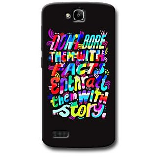 Cell First Designer Back Cover For Huawei Honor Holly-Multi Color sncf-3d-HonorHolly-411