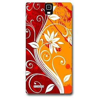 Cell First Designer Back Cover For InFocus M330-Multi Color sncf-3d-InFocusM330-537