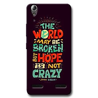 Cell First Designer Back Cover For Lenovo A6000-Multi Color sncf-3d-LenovoA6000-473