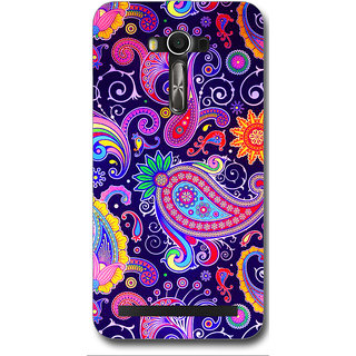 Cell First Designer Back Cover For Asus Zenfone 2 Laser ZE550KL-Multi Color sncf-3d-2LaserZE550KL-477