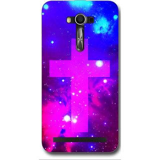 Cell First Designer Back Cover For Asus Zenfone 2 Laser ZE550KL-Multi Color sncf-3d-2LaserZE550KL-491