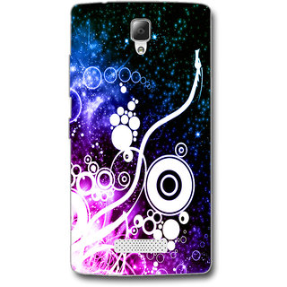 Cell First Designer Back Cover For Lenovo A2010-Multi Color sncf-3d-A2010-540