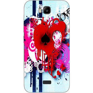 Cell First Designer Back Cover For Huawei Honor Bee-Multi Color sncf-3d-honorbee-482