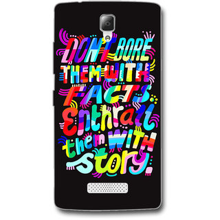 Cell First Designer Back Cover For Lenovo A2010-Multi Color sncf-3d-A2010-411