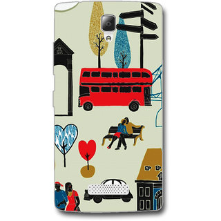 Cell First Designer Back Cover For Lenovo A2010-Multi Color sncf-3d-A2010-446