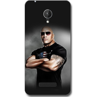 Cell First Designer Back Cover For Micromax Canvas Spark Q380-Multi Color sncf-3d-CanvasSparkQ380-438