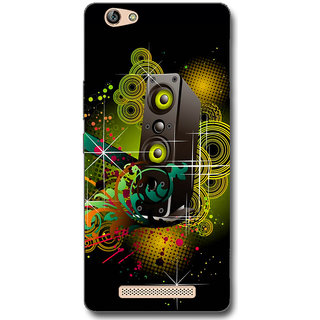 Cell First Designer Back Cover For Gionee Marathon M5-Multi Color sncf-3d-GioneeM5-304