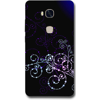 Cell First Designer Back Cover For Huawei Honor 5X-Multi Color sncf-3d-Honor5X-103