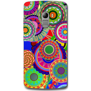 Cell First Designer Back Cover For Lenovo Vibe K4 Note-Multi Color sncf-3d-LenovoK4Note-270