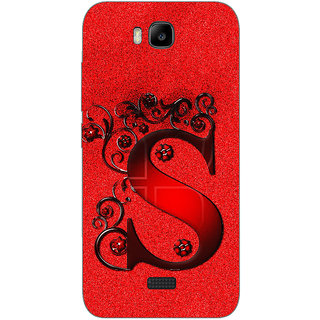 Cell First Designer Back Cover For Huawei Honor Bee-Multi Color sncf-3d-honorbee-523