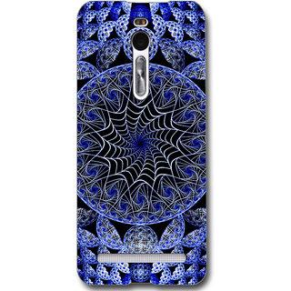 Cell First Designer Back Cover For Asus Zenfone 2 ZE551ML-Multi Color sncf-3d-zenfone2-528