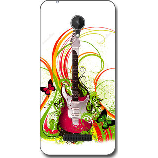 Cell First Designer Back Cover For Micromax Canvas Spark Q380-Multi Color sncf-3d-CanvasSparkQ380-520