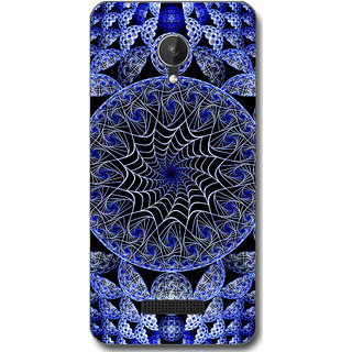 Cell First Designer Back Cover For Micromax Canvas Spark Q380-Multi Color sncf-3d-CanvasSparkQ380-528