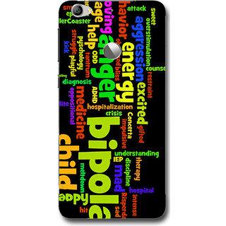 Cell First Designer Back Cover For LeTV Le 1S-Multi Color sncf-3d-LetvLe1s-221