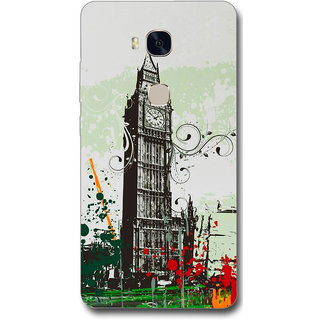 Cell First Designer Back Cover For Huawei Honor 5X-Multi Color sncf-3d-Honor5X-278