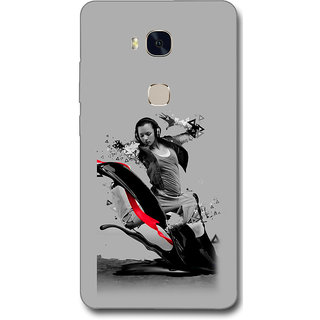 Cell First Designer Back Cover For Huawei Honor 5X-Multi Color sncf-3d-Honor5X-506
