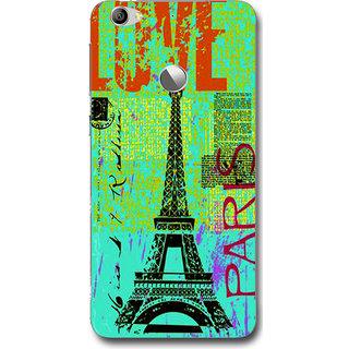 Cell First Designer Back Cover For LeTV Le 1S-Multi Color sncf-3d-LetvLe1s-314