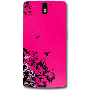 Cell First Designer Back Cover For OnePlus One-Multi Color sncf-3d-OnePlusOne-201