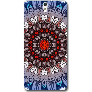 Cell First Designer Back Cover For Sony Xperia C5-Multi Color sncf-3d-XperiaC5-186