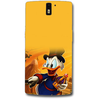 Cell First Designer Back Cover For OnePlus One-Multi Color sncf-3d-OnePlusOne-234