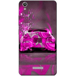 Cell First Designer Back Cover For Lava Pixel V1-Multi Color sncf-3d-LavaPixelV1-125