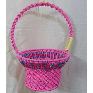 Flower And Fruit Basket Handmade