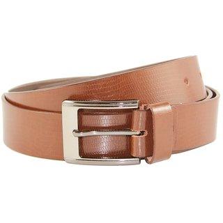 Tom Venice Brown Leather Formal Belt