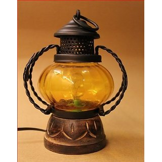 Desi Karigar Electric lamp holder home dcor decorative table lamp hanging lantern stand tea light gift item