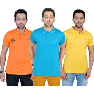 Fabnavitas Polo T-shirt Pack of 3
