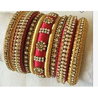 Silk Thread Bangles women