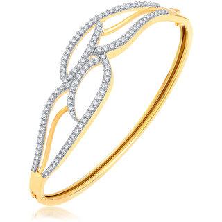 Sukkhi Marvellous Gold Plated CZ Kada For Women