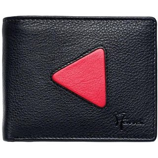Hawai Men And Women Casual Multicolor Genuine Leather Wallet (4 Card Slots)