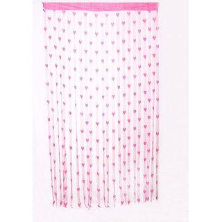Jaycoknit Pink polyster door curtain