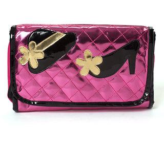 Lill Pumpkins Pink 4 Fold pouch